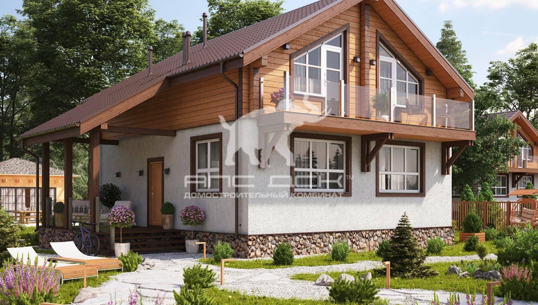 Проекты комбинированных домов цены под ключ, проекты в москве