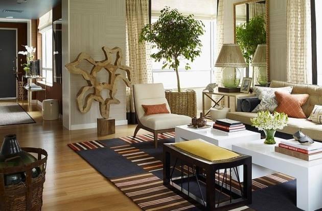 Эко стиль интерьера - красота, экологичность и удобство!