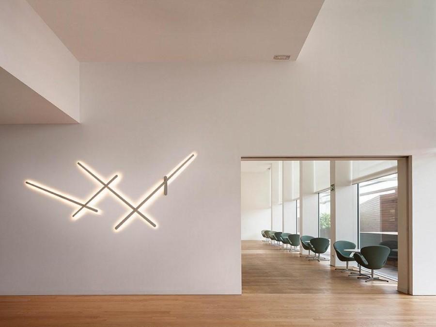 Настенные светильники в интерьере - фото примеров