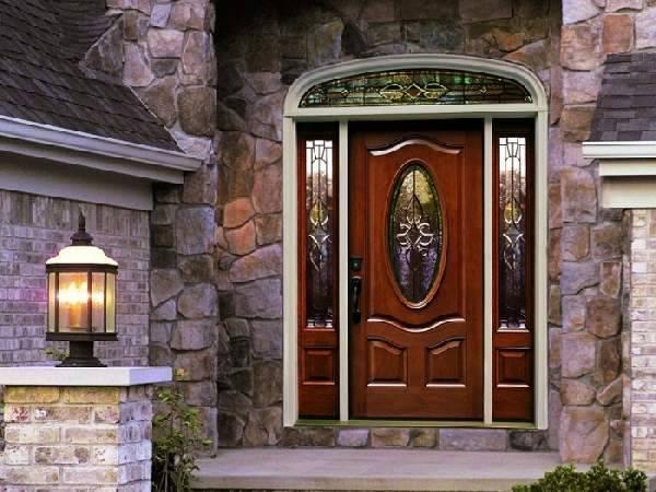Входные деревянные двери для частного дома: Инструкции