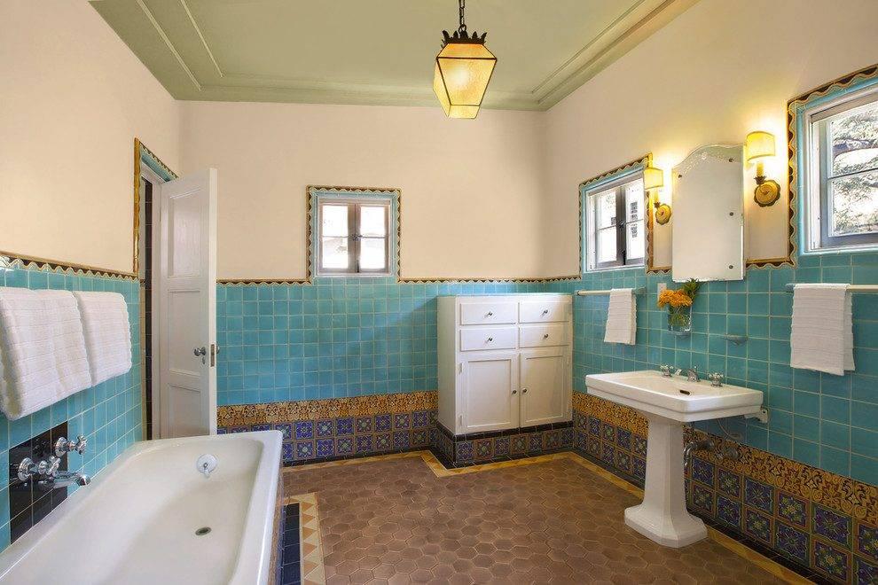 Дизайн ванной комнаты в марокканском стиле (фото) – идеи интерьера