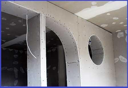 Монтаж гипсокартона на стену без профиля: на саморезы, на пену, на клей