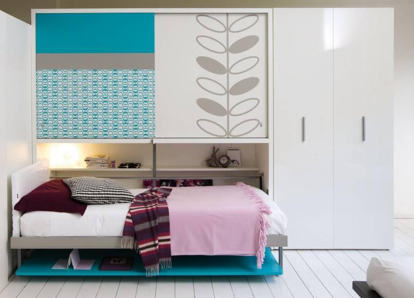 Кровать-трансформер для малогабаритной квартиры – современные модели и их реализация