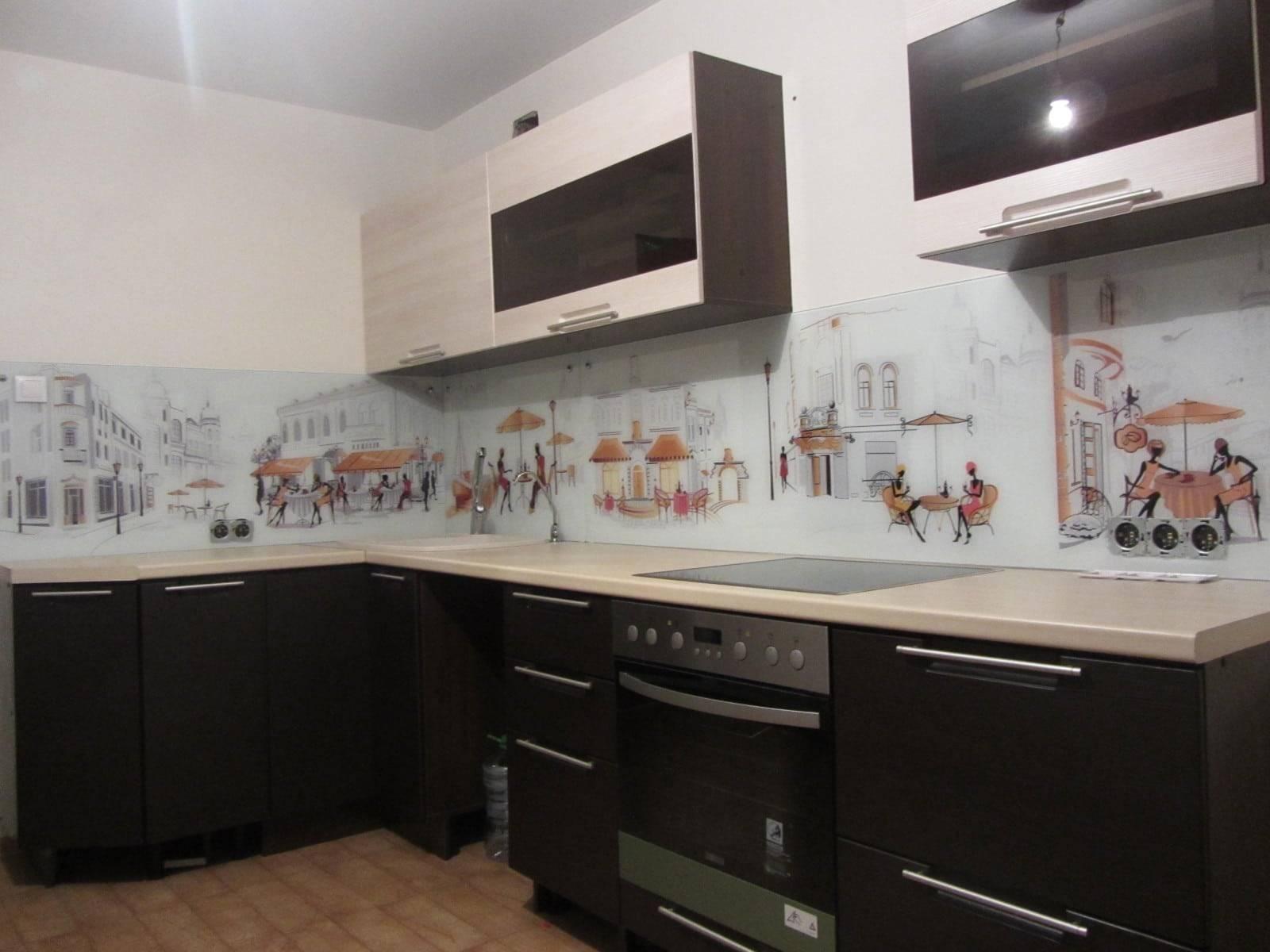 Как установить стеновую панель на кухне
