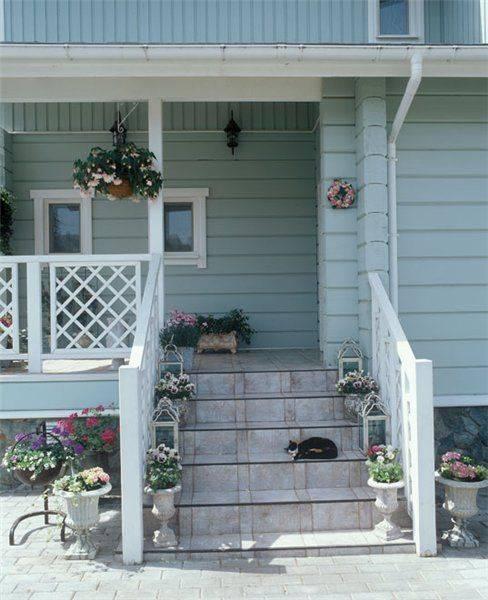 Крыльцо к дому - проекты (60 фото): высокое наружные лестницы из кирпича для частного жилого дома с цоколем, нормы проектирования