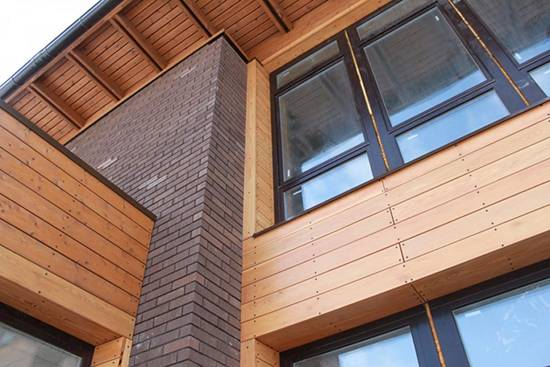 Фасад из цсп: особенности материала и способ монтажа
