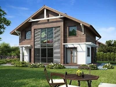 Каркасный дом со вторым светом: проекты, как сделать подобное решение своими руками