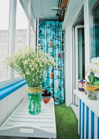 Что нужно знать о дизайне балкона?