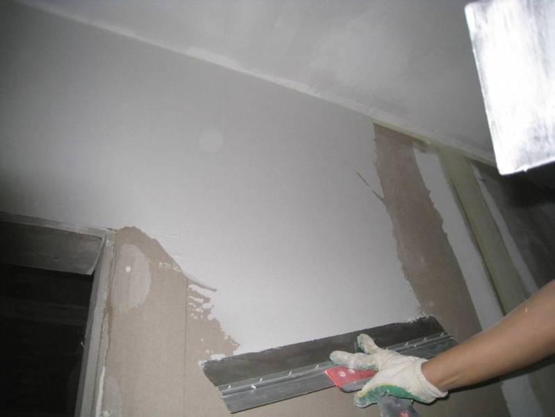 5 отличных вариантов шпаклевки для стен под обои с нюансами выбора и другими полезными советами: 50 фото и 2 видео