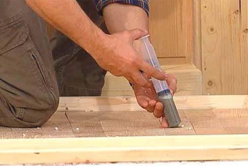 Как устранить скрип деревянного пола — 5 вариантов решения насущной проблемы
