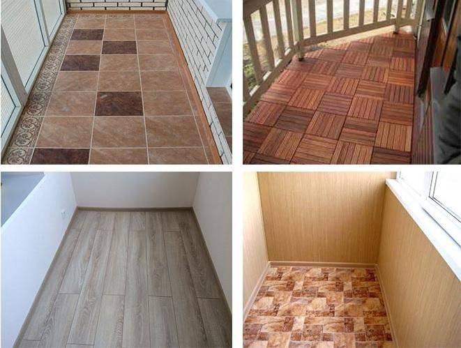 Чем застелить пол на балконе - выбор покрытия!