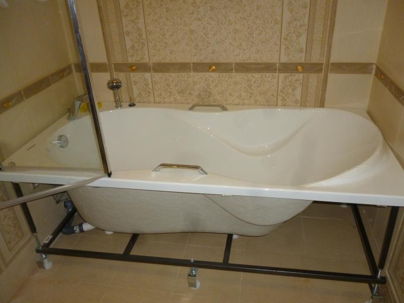 Установка акриловой ванны своими руками: мастер-класс с фото | строй советы