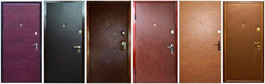 Как обить двери дермантином — советы профессионалов