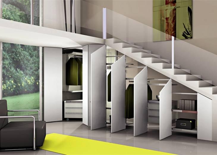 15 идей использования пространства под лестницей