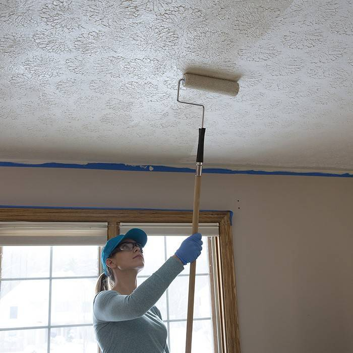 Краска для потолка: какая лучше - акрилатная, силиконовая или другая, как выбрать, видео и фото
