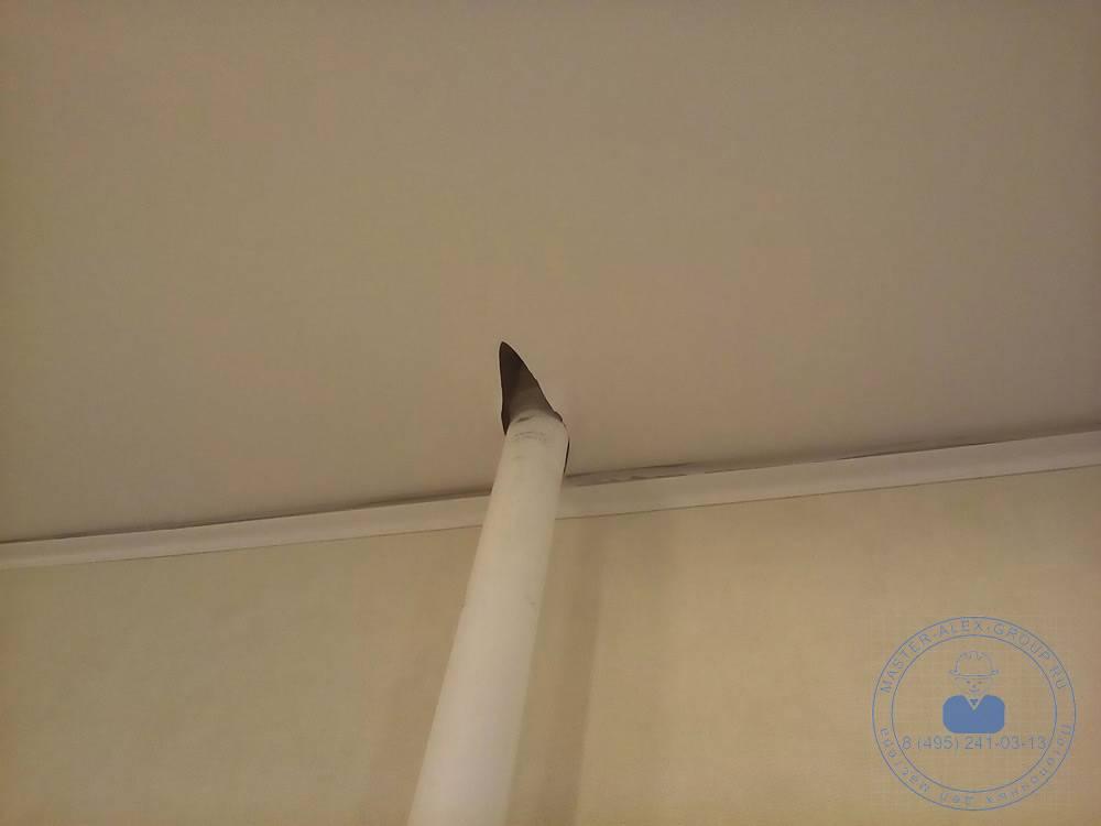 Как отремонтировать порез на натяжном потолке - инструкция с видео