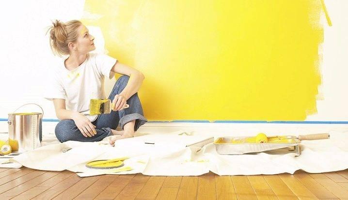 Моющаяся краска для стен на кухне: виды и производители