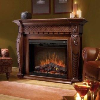 Выбираем и устанавливаем встраиваемый электрический камин с эффектом живого огня