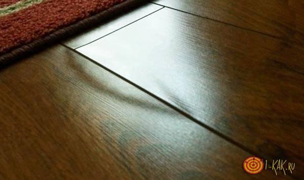 Как исправить вздувшийся ламинат без разборки? 33 фото почему покрытие вздувается на стыках и что делать для исправления