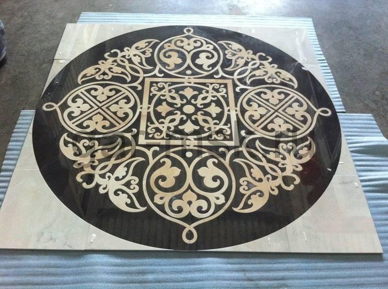 Напольная плитка «под дерево»: применение в интерьере