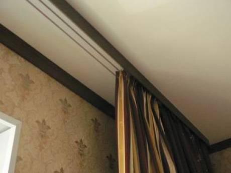 Cкрытый карниз в натяжном потолке: красиво и надежно