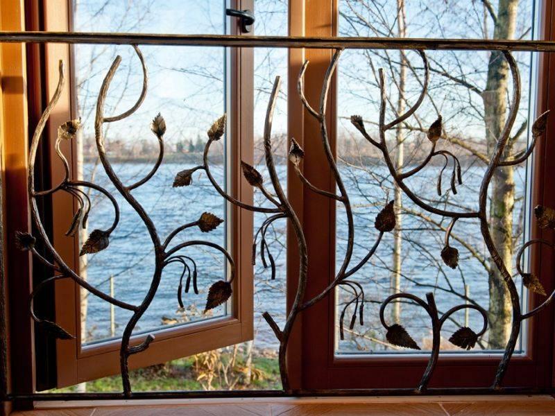 Решетки на окна своими руками: виды, выбор, установка, чертежи