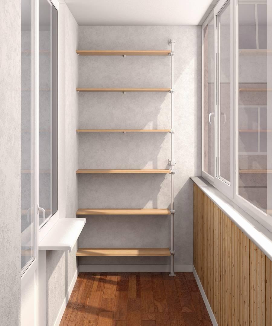Полки на балконе своими руками: фото, видео инструкция полки на балконе своими руками: фото, видео инструкция