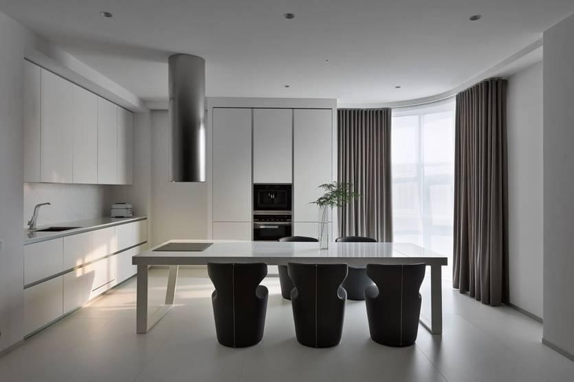 Кухня в стиле минимализм: фото реальных интерьеров, особенности