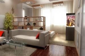 Дизайн однокомнатной квартиры с ребенком (34 фото интерьеров): примеры зонирования