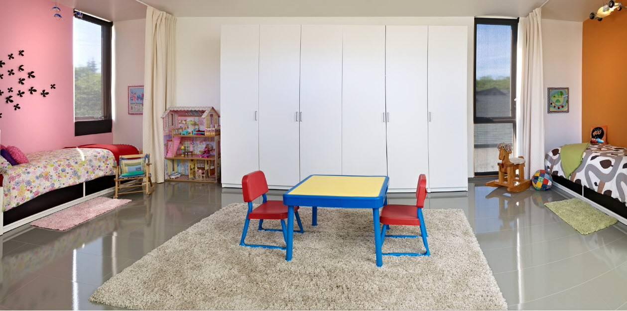 Зонирование детской - 110 фото функциональных и оригинальных решений для детских комнат