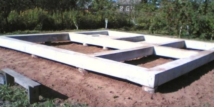Фундамент для каркасного дома своими руками: варианты строительства