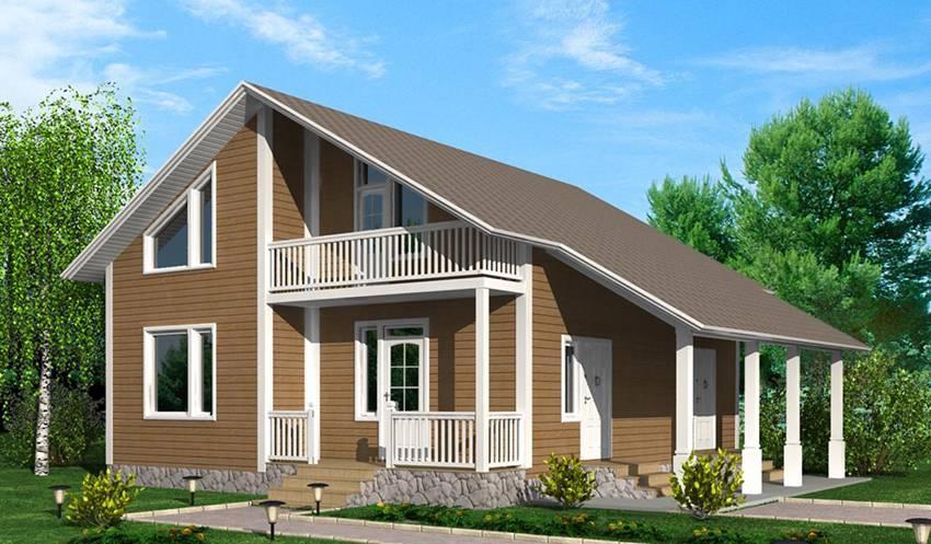 Каркасный дом 6х6 своими руками: пошаговая инструкция и чертежи, строим правильно, видео и фото руководство
