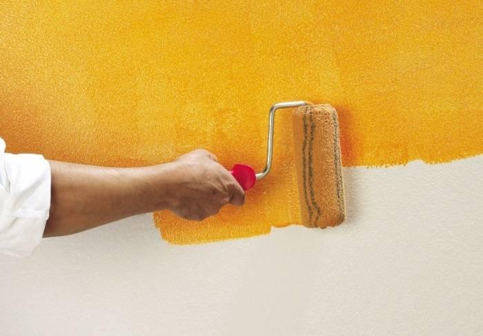 Как наклеить обои на стены покрашенные эмалью, масляной или акриловой краской