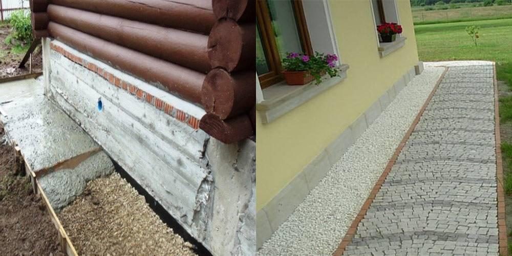 Отвод воды от фундамента дома: способы и материалы, как отвести дождевую воду с крыши