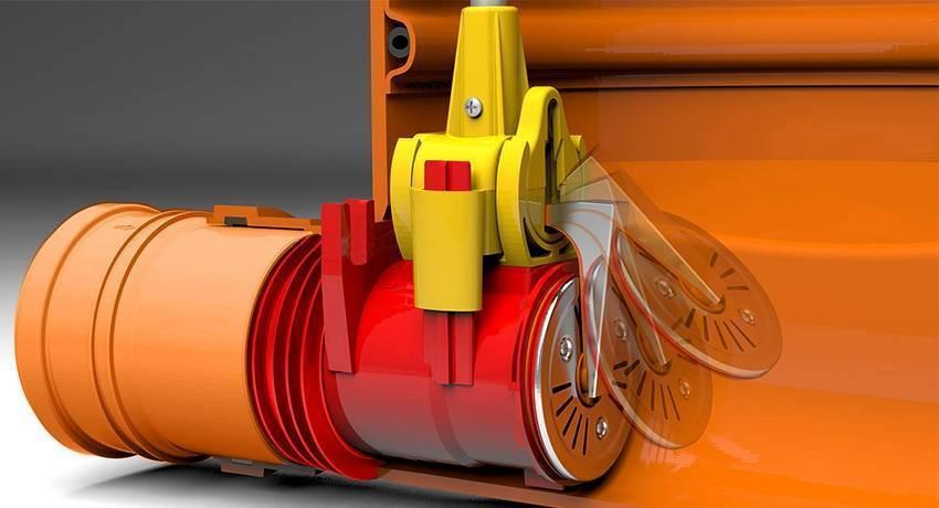 Обратный клапан на канализацию 110 мм: элемент водоотведения