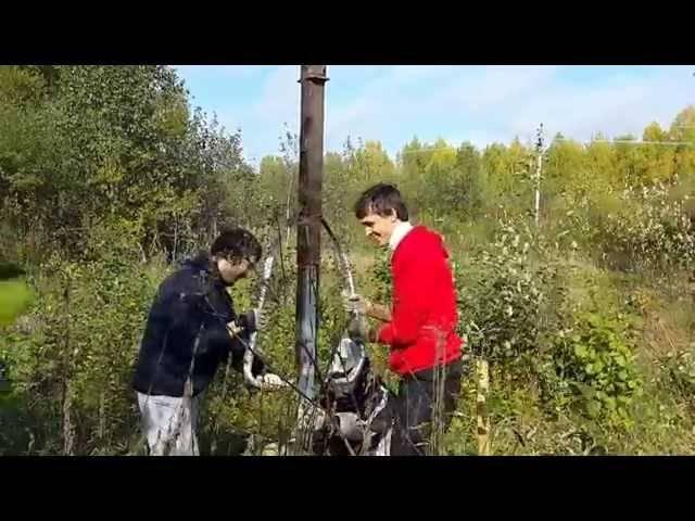 Установка столбов для забора без бетонирования своими руками
