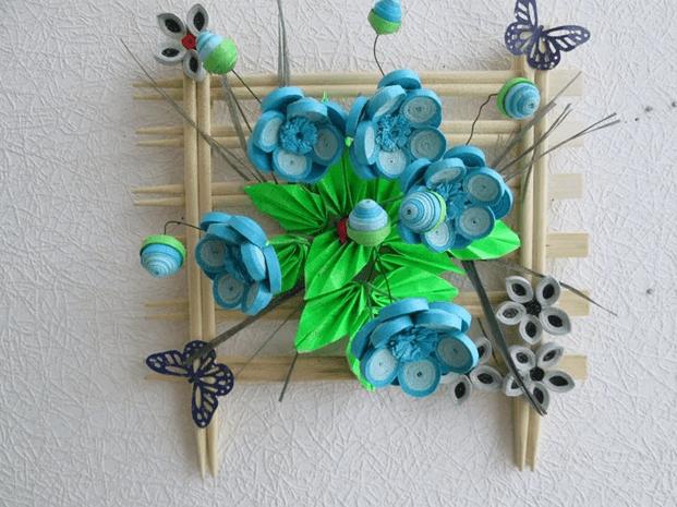 Мк цветок ландыша в технике квиллинг | страна мастеров
