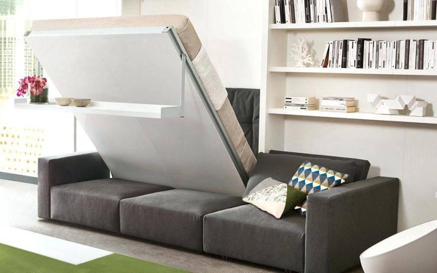 Как выбрать кровать - трансформер для малогабаритной квартиры