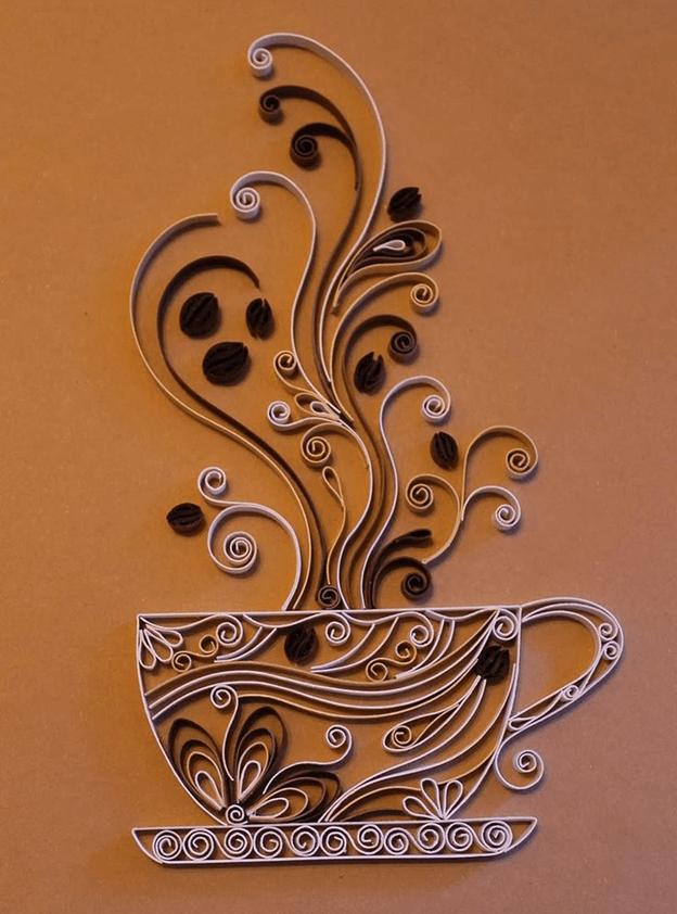 Мк цветок роза в технике квиллинг бихайв или ажурный квиллинг | страна мастеров