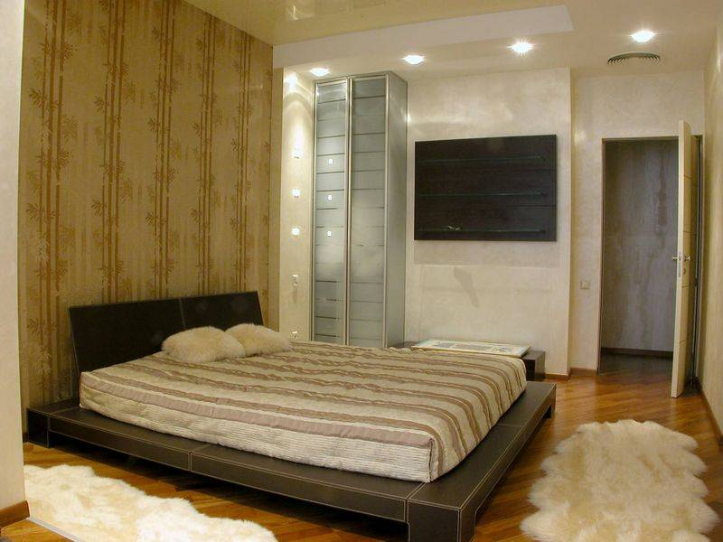 Спальня 10 кв.м. - как создать комфортный и уютный дизайн, 75 фото