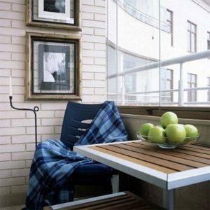 Как обустроить балкон: обустройство балкона - внутри по простому и дешево