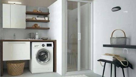 Шкаф над стиральной машиной в ванной: виды конструкций, правила выбора, как сделать своими руками