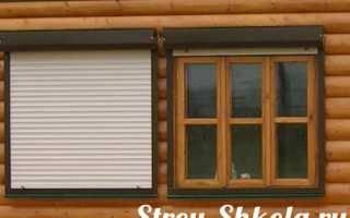 Монтаж рольставнен на окна своими руками: в санузле и других помещениях