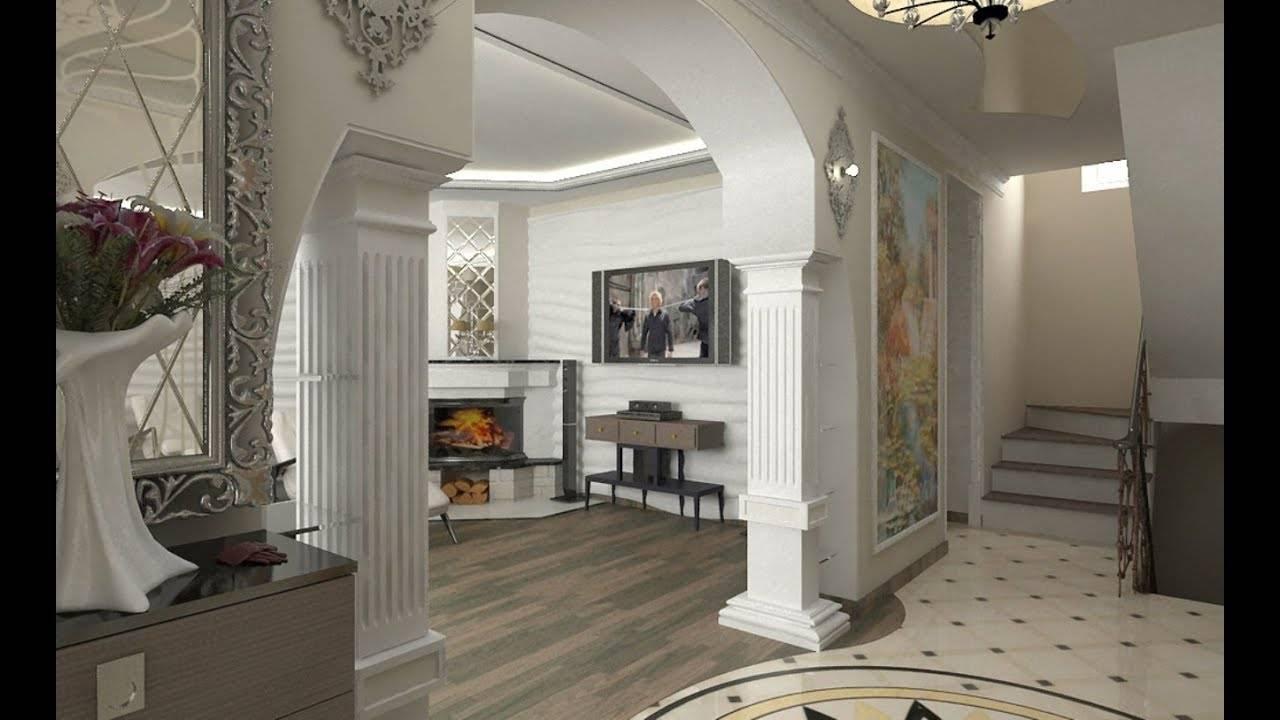 Декор стен, потолка и перегородок из гипсокартона своими руками: фото
