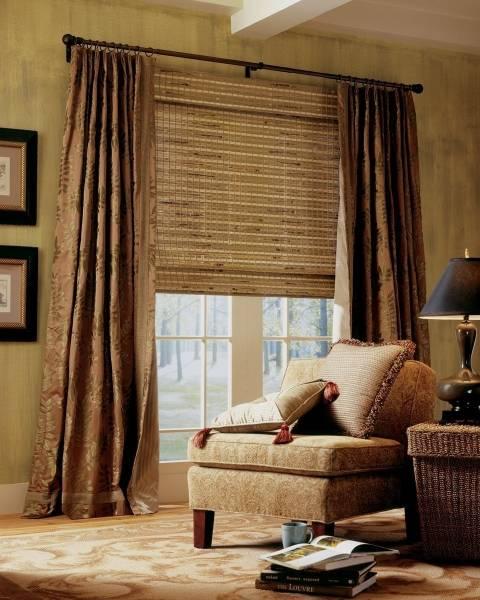 Оформление окна без штор: идеи для декора