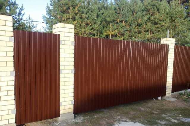 Калитка из профильной трубы - всё о воротах и заборе