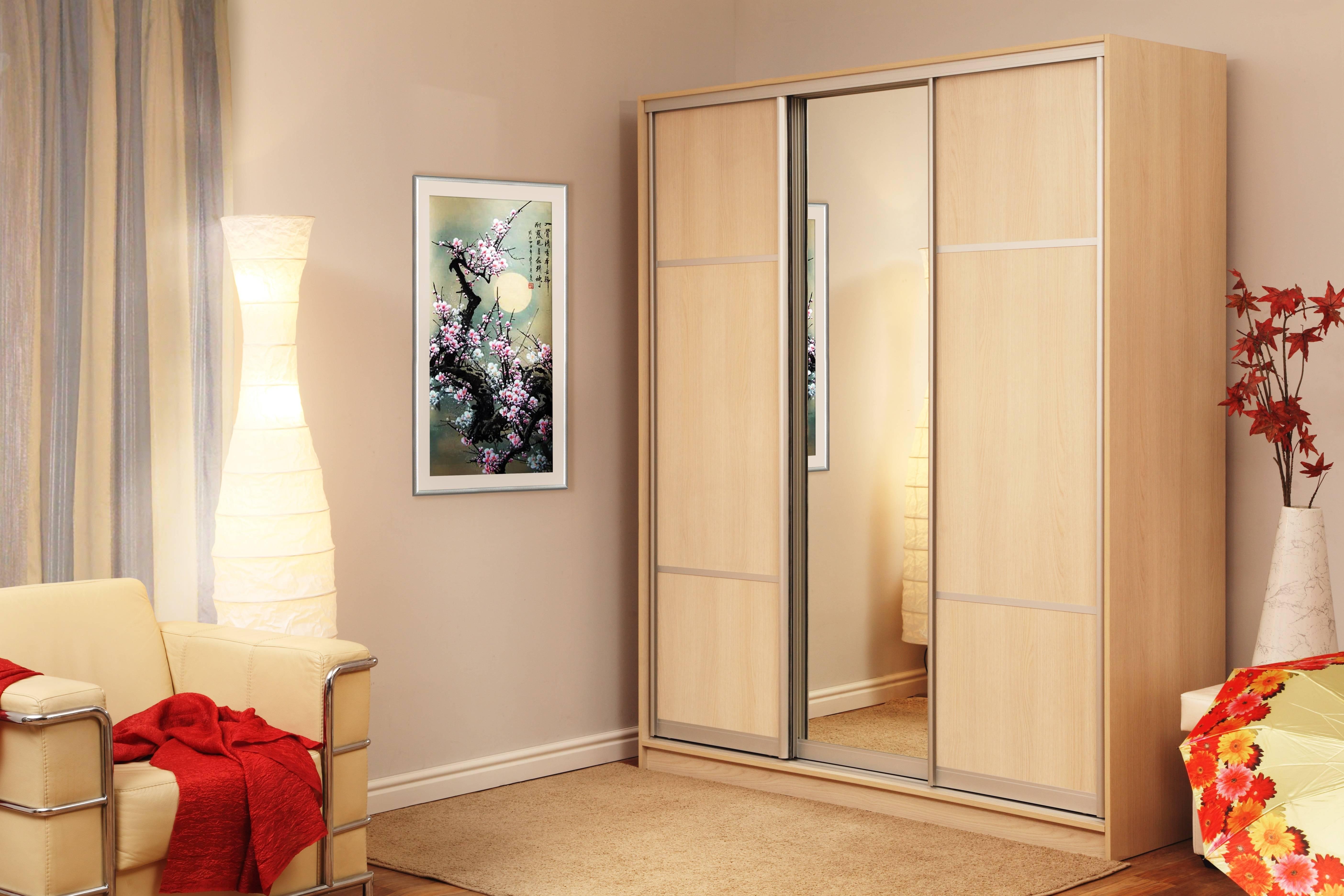 Шкаф с зеркалом - 75 фото необычных новинок стильного оформления
