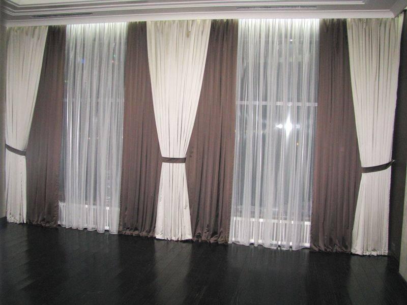 Бежевые шторы в интерьере - 77 фото примеров идеального сочетания