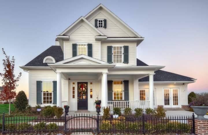 Фасады домов в классическом стиле: Идеи