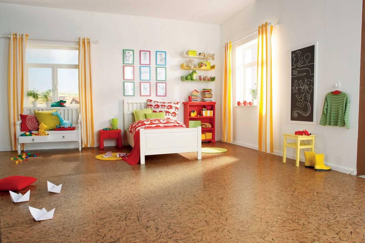 Экологичное пробковое покрытие для стен в современном интерьере (+38 фото)